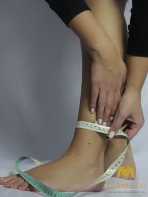 Čižmy šitie na mieru - obvod nohy