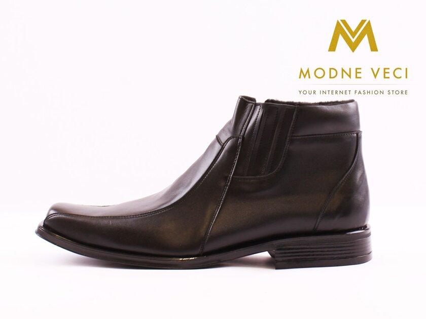 8f076fc918a7 Elegantné topánky - kožené model 187 veľkosti 46-48