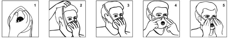 ochranná maska respirátor corona korona