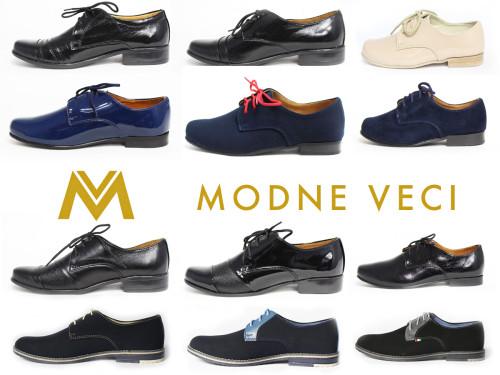 Elegantné kožené topánky pre malých frajerov