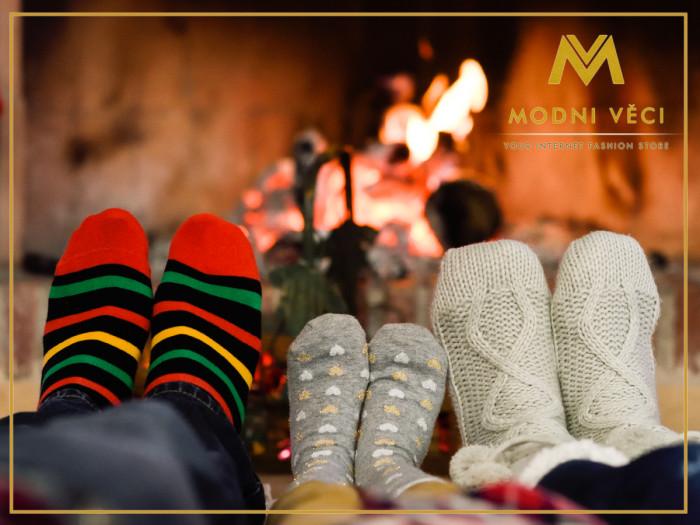 termo ponožky na vianoce modneveci.sk
