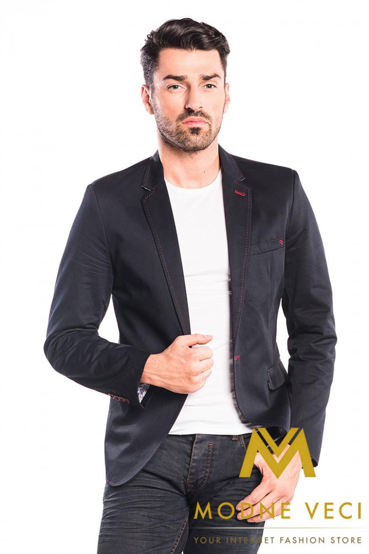 537299219f Luxusná pánska košeľa biela SLIM FIT STRIH 1431-1