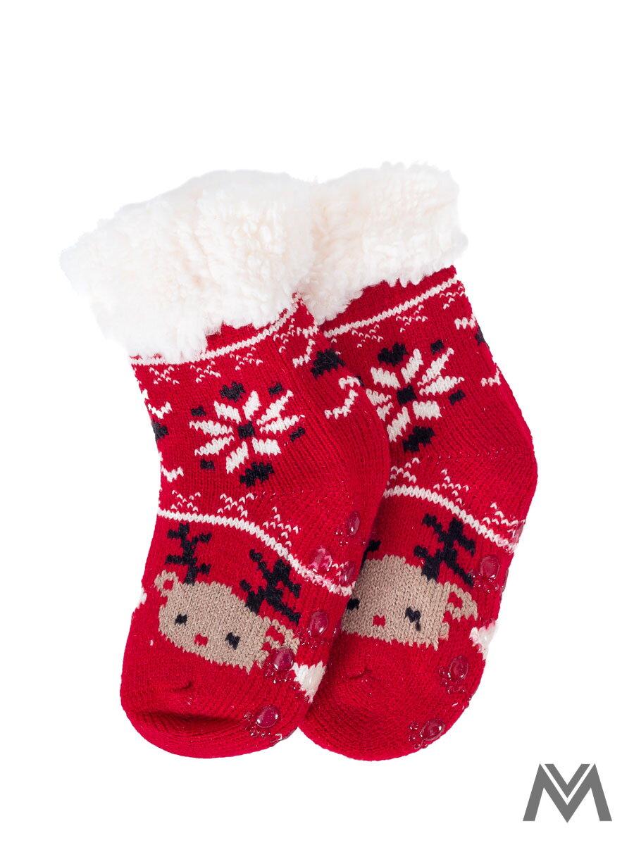 af01b4e1e023 Termo ponožky Sobík pre bábätká červené
