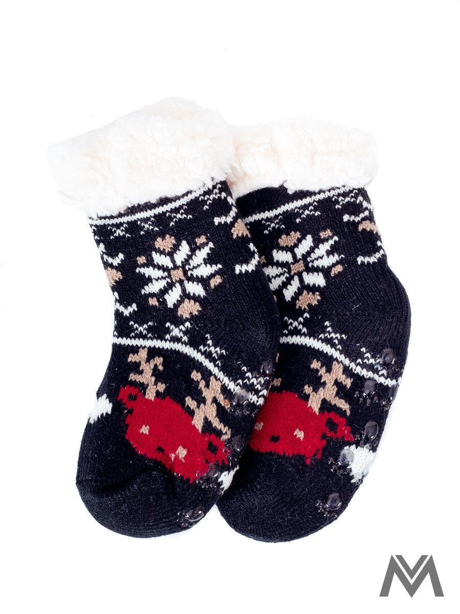 4a3033f40 Termo ponožky Sobík pre bábätká čierne | ModneVeci.sk