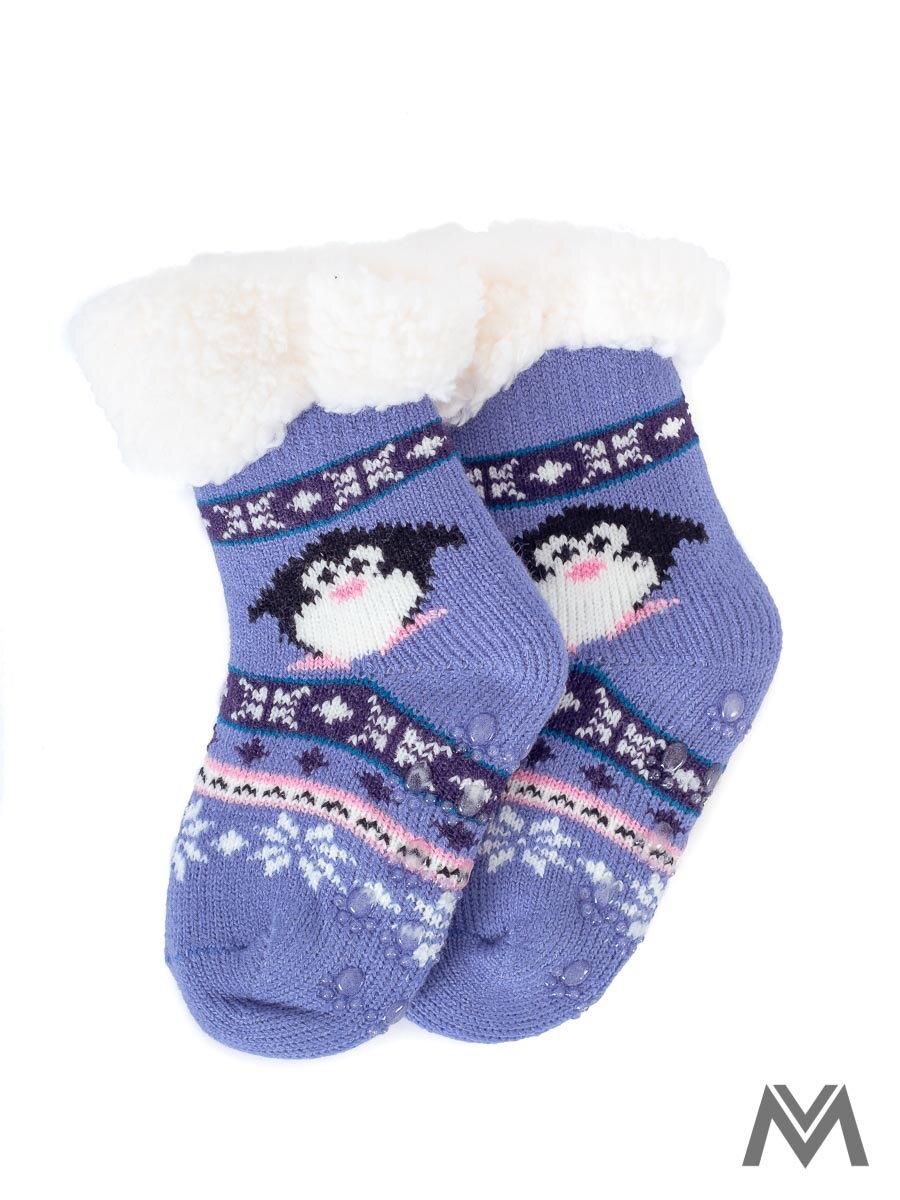 6173ff1a9 Termo ponožky pre bábätka tučniak- modré | ModneVeci.sk