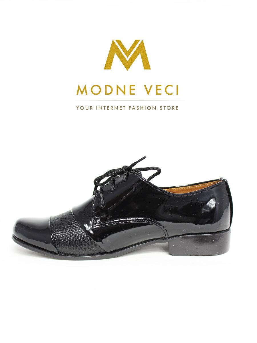 76aae32be Chlapčenské spoločenské kožené topánky 156b čierne| ModneVeci.sk