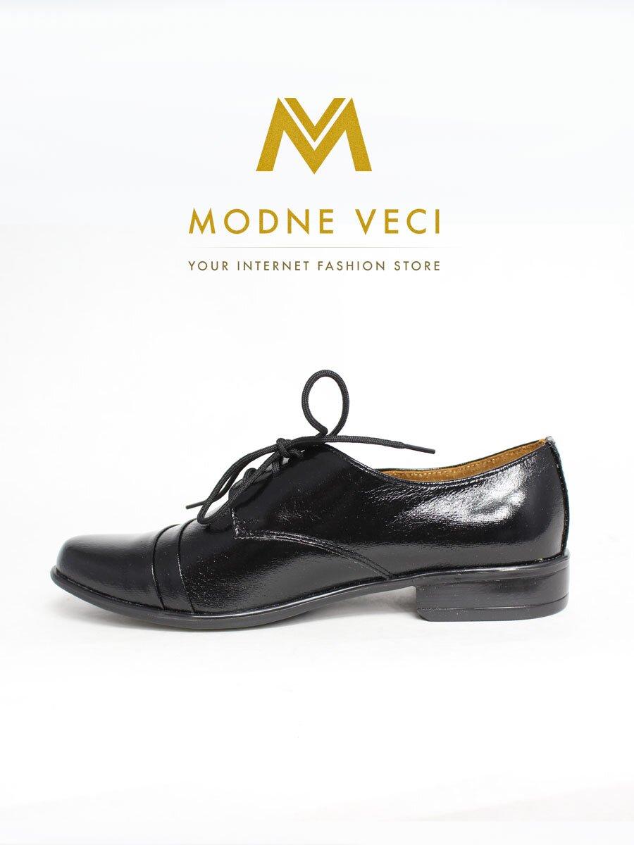 Chlapčenské spoločenské kožené topánky 83 čierne  e91e98e83c8