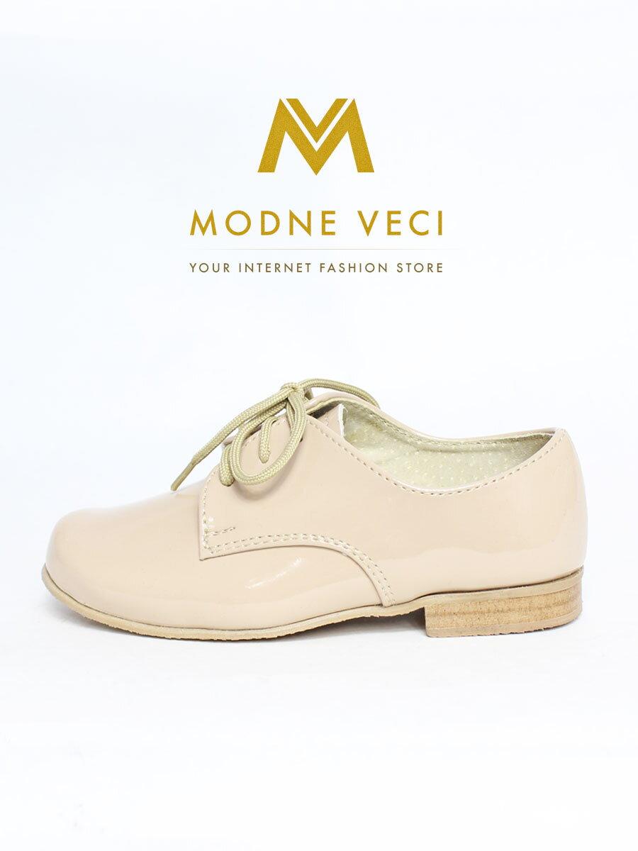 6e9c39b97d547 Chlapčenské detské spoločenské kožené topánky 99 béžové | ModneVeci.sk