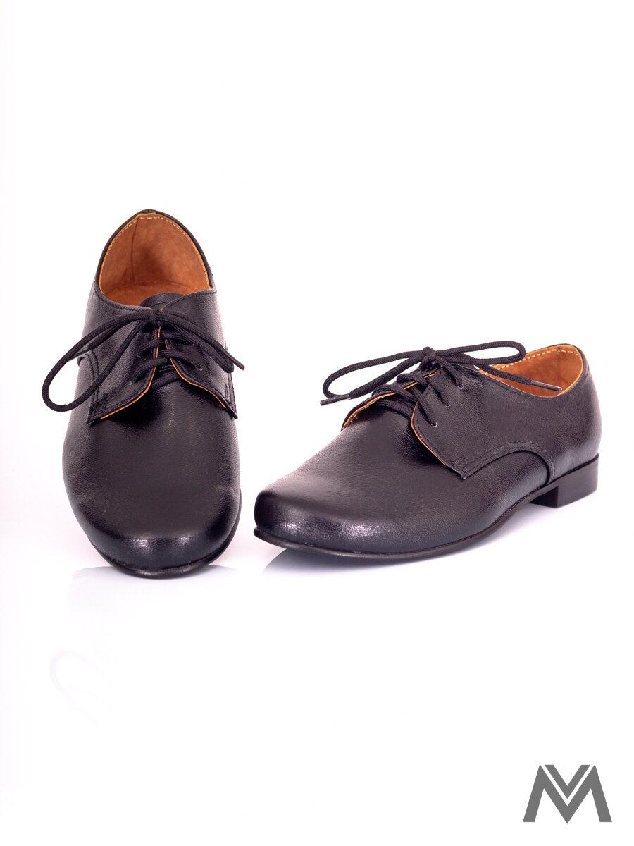 d91996e76 Chlapčenské spoločenské topánky - čierne 99 matné | ModneVeci.sk