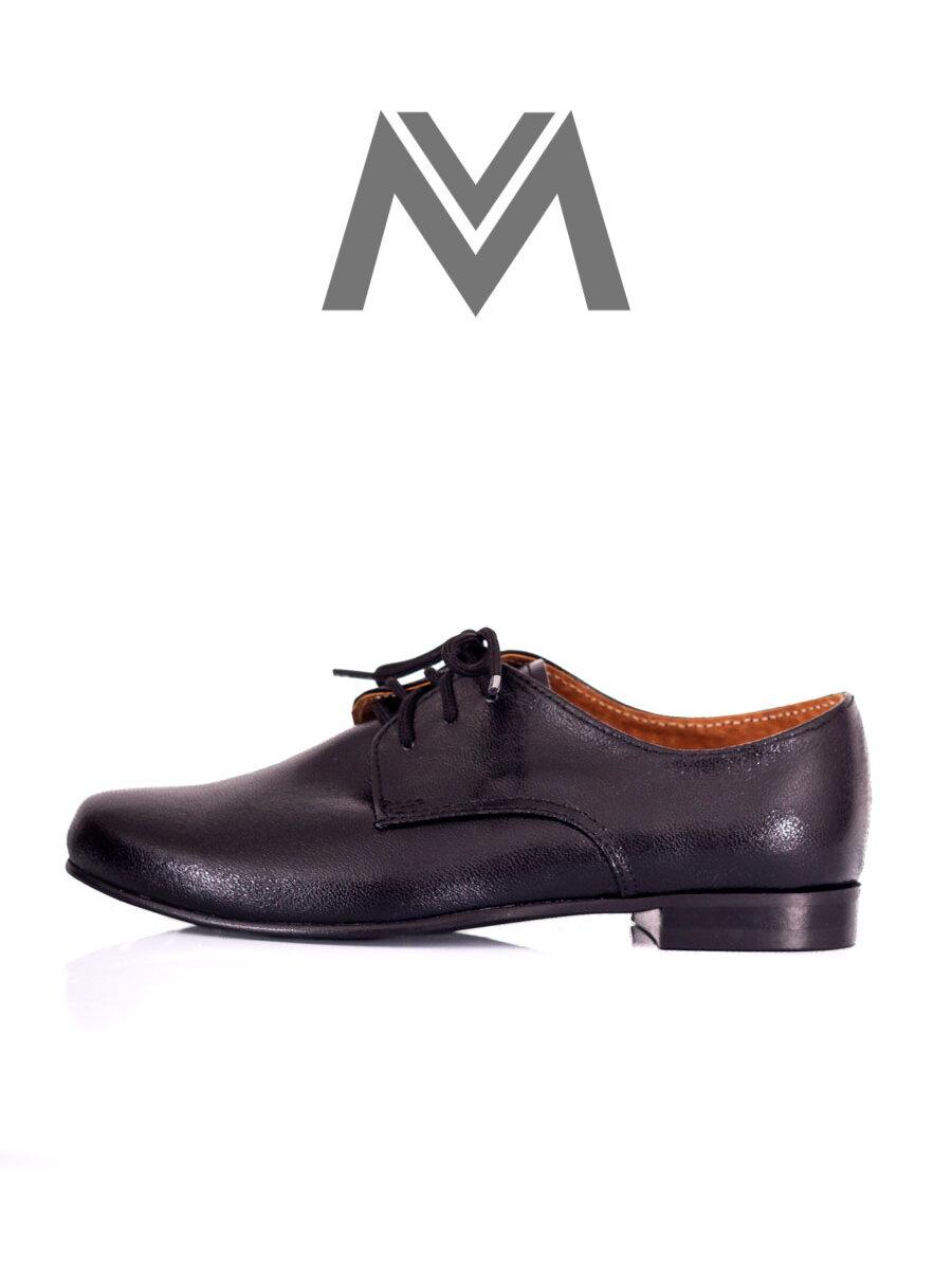1ad314a2873a7 Chlapčenské spoločenské topánky - čierne 99 matné | ModneVeci.sk