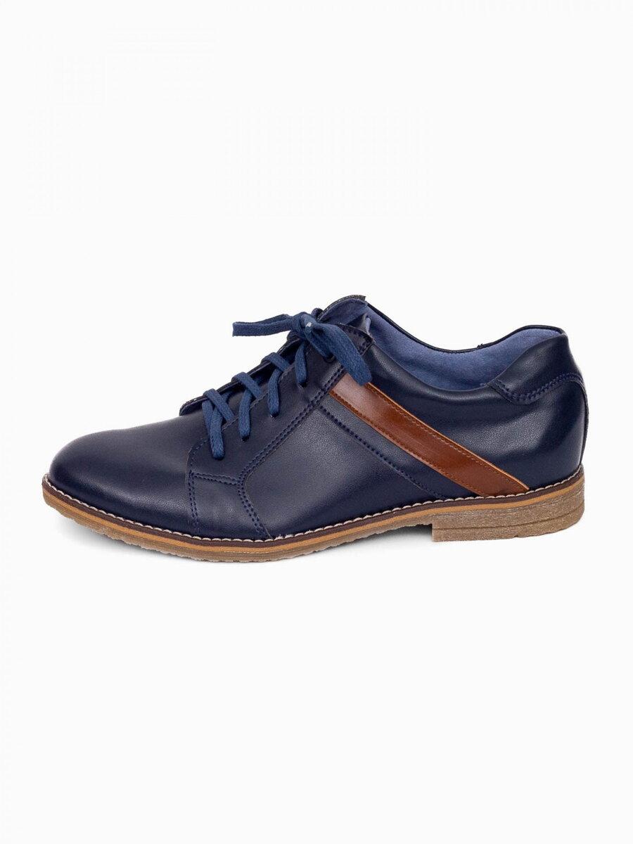 f77df2a24 Chlapčenské detské kožené topánky 303 modré | ModneVeci.sk ...