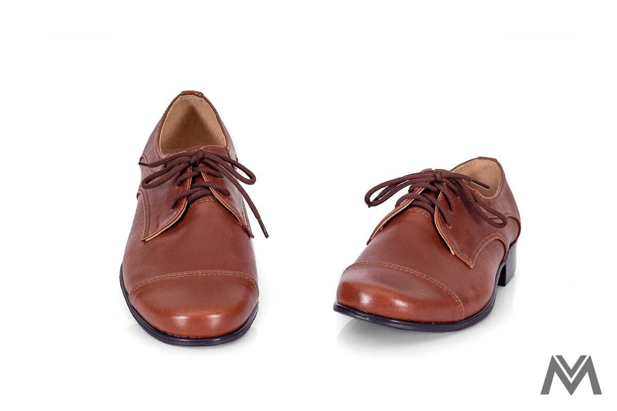228e41b01 Chlapčenské spoločenské topánky 200 hnedé chlapčenské topánky, detské  topánky ...