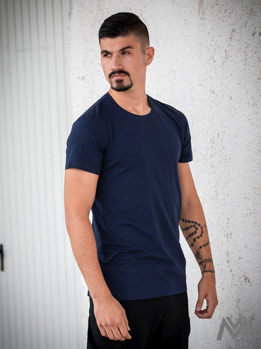 e8ce0222139c Pánske tričko VERSABE z BIO bavlny 03 tmavomodré VS-PT1803 ...