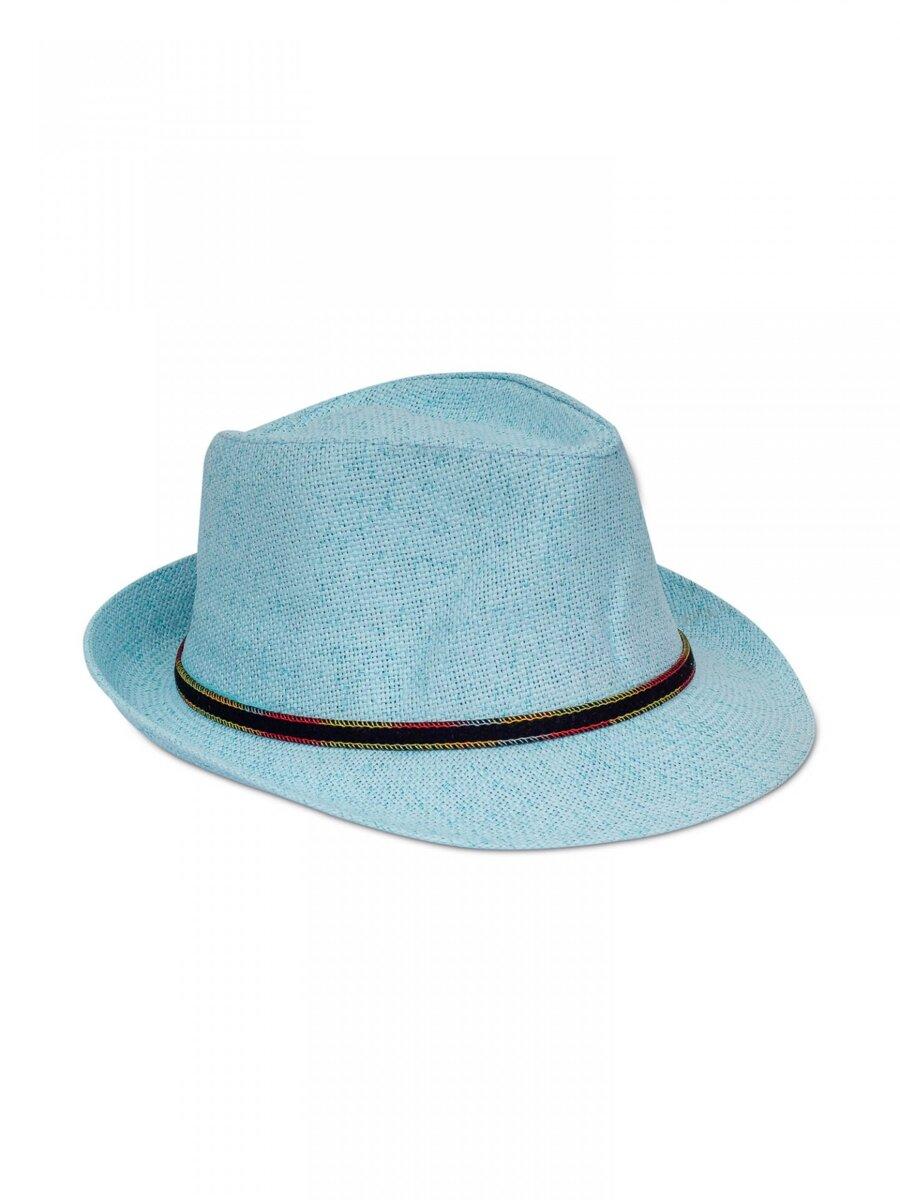 24eeedbe6 Pánsky slnečný klobúk PK09 - azúrovo modrý | ModneVeci.sk ...