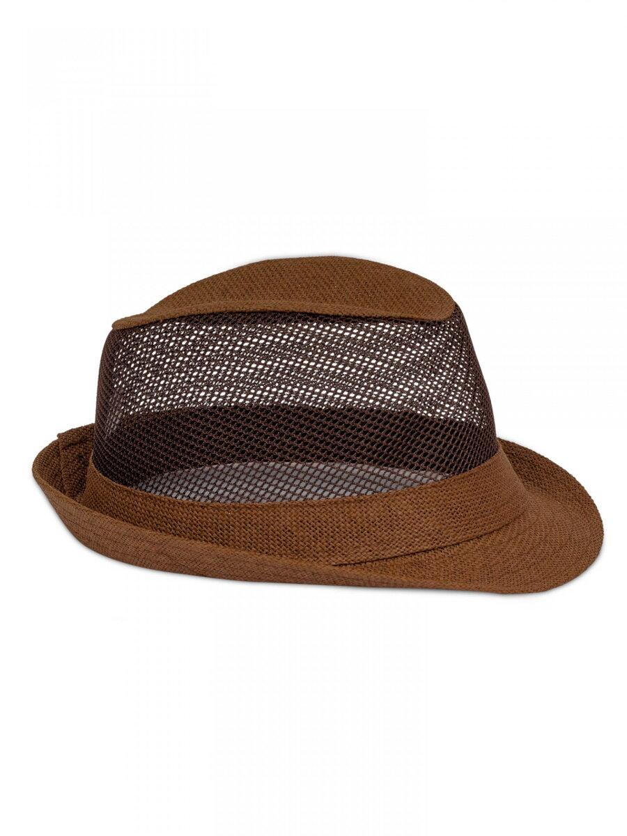 c84c4a6ff Pánsky slnečný klobúk PK14 - tmavohnedy| ModneVeci.sk | Doručenie do 24h