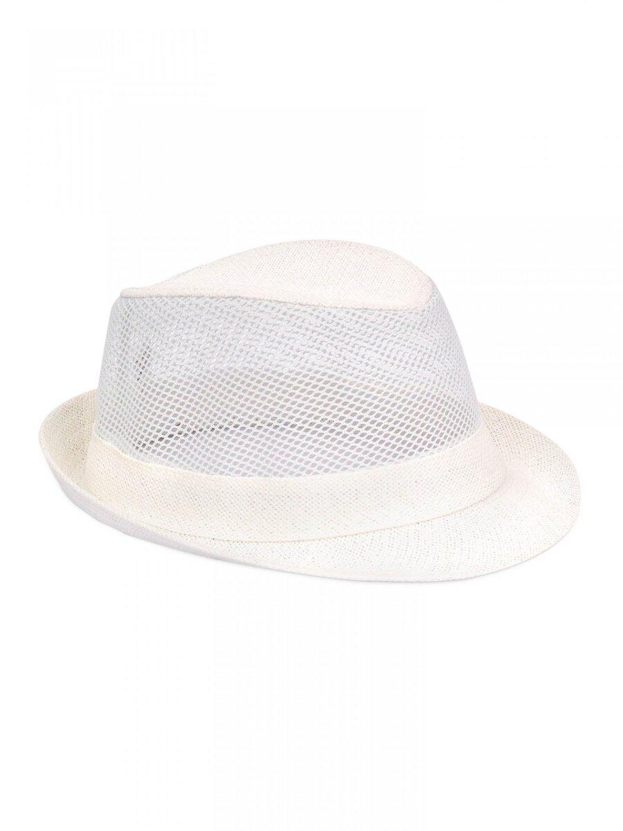 8de99a2a9 Pánsky slnečný klobúk PK18 - biely | ModneVeci.sk | Doručenie do 24h
