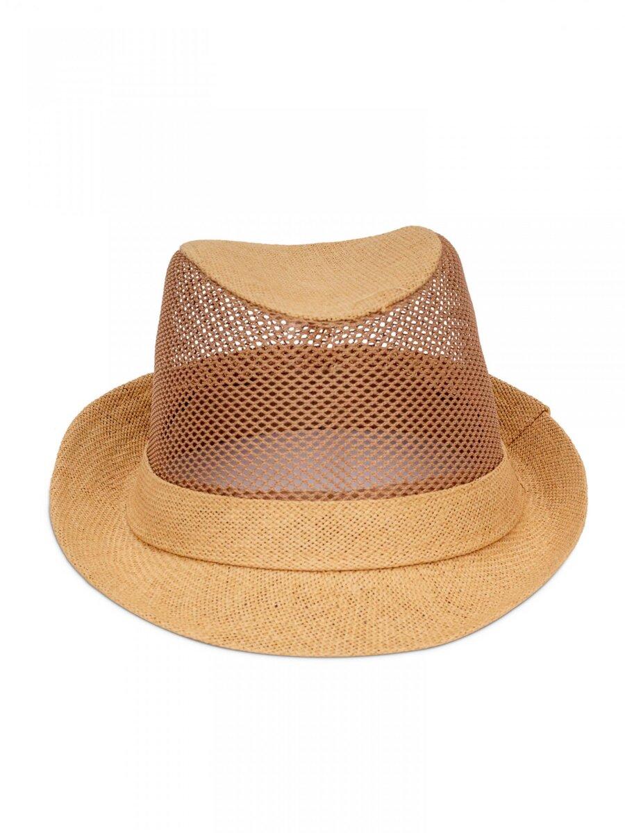 2b4f98dac Pánsky slnečný klobúk PK20 - hnedý | ModneVeci.sk | Doručenie do 24h