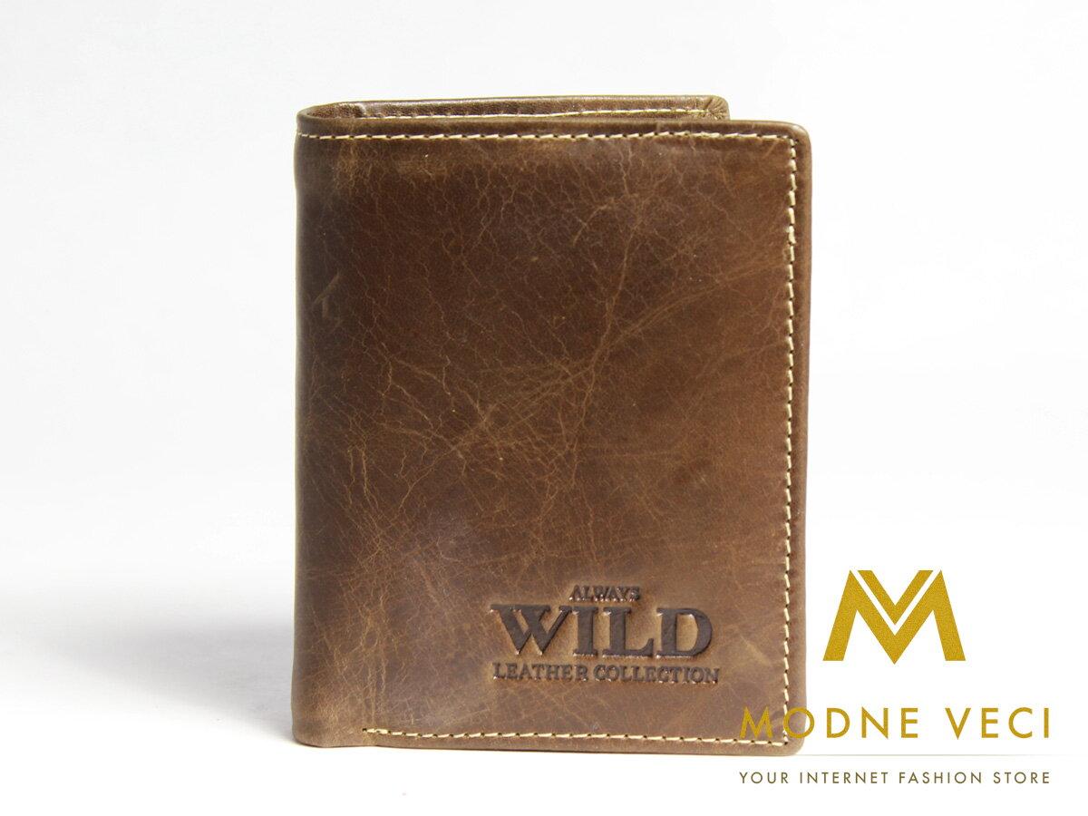 1c9a1c2b9 Pánska kožená peňaženka 5131-8 WILD - brown