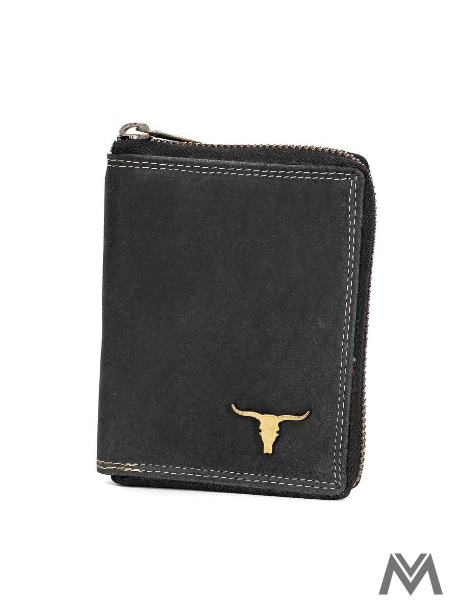 073d202c56 Pánska kožená peňaženka BUFFALO WILD 03Z čierna