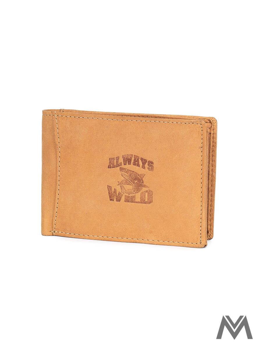 9fdc3baa8 Pánska kožená peňaženka ALWAYS WILD N992 svetlohnedá | ModneVeci.sk