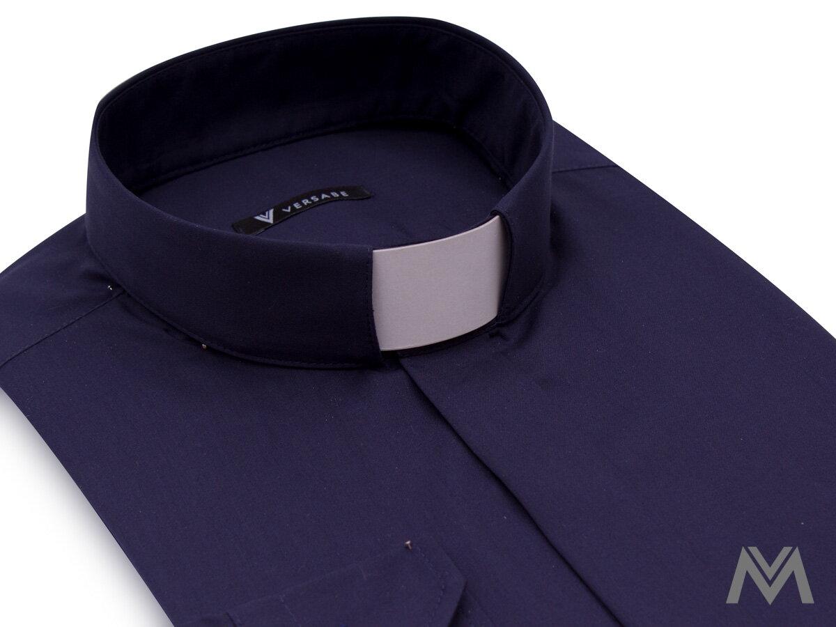 9ad4f022da89 Kňazská košeľa VS-PK 1849K tmavo modrá
