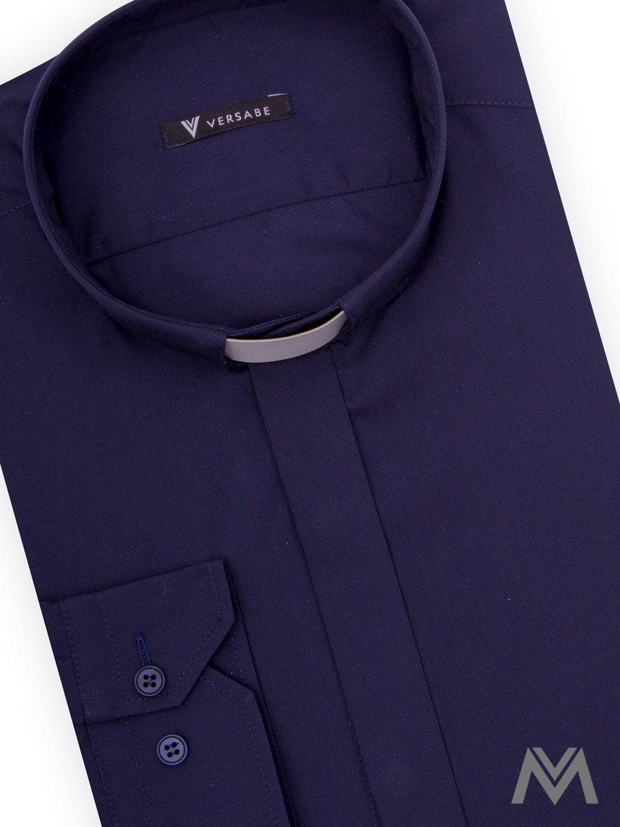 4bb7548d4530 Kňazská košeľa VS-PK 1849K tmavo modrá