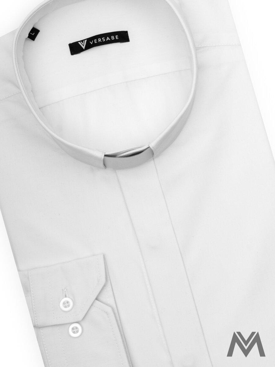 8c990ff197ea Kňazská košeľa VS-PK 1850K biela 100% bavlna