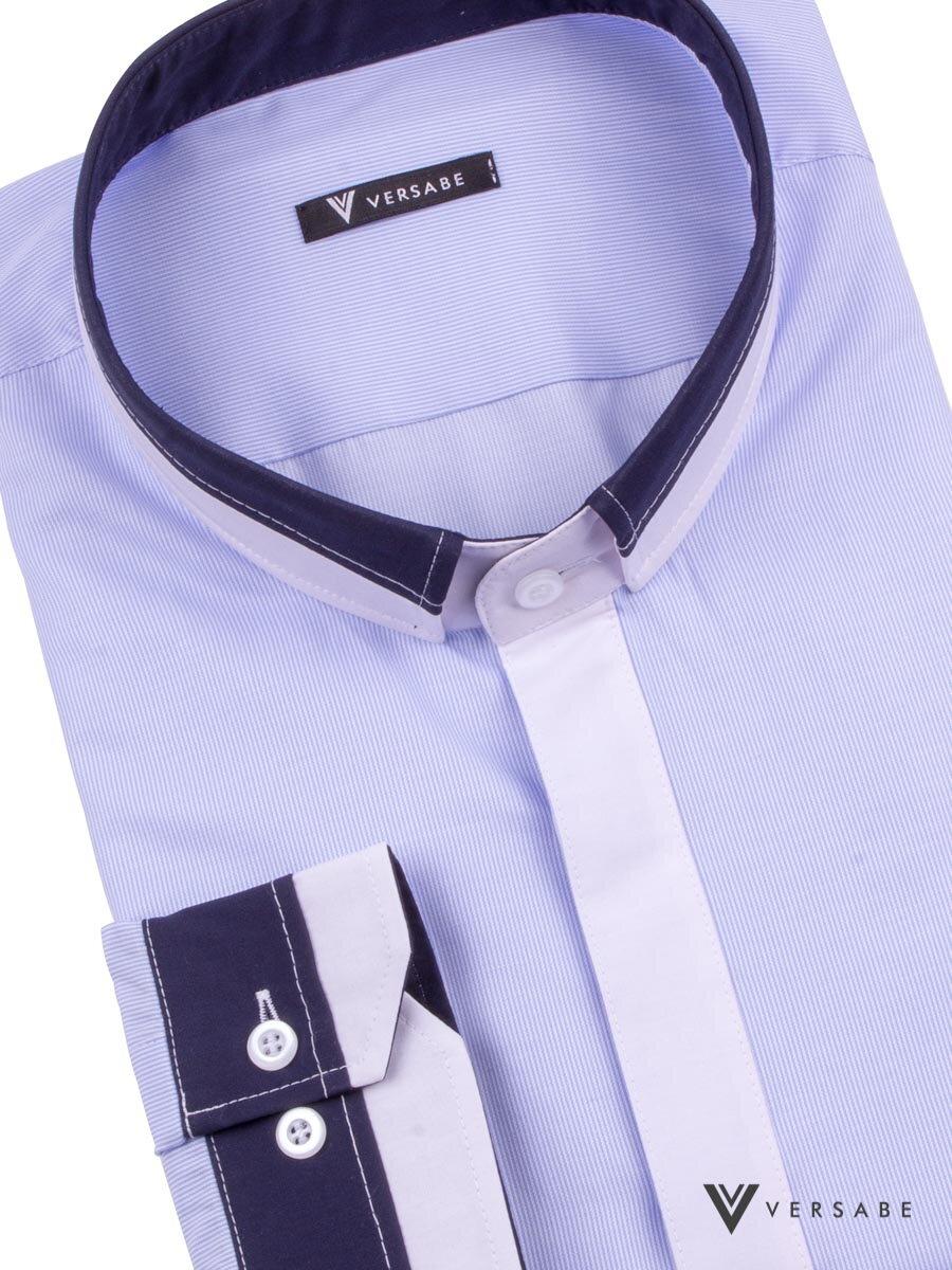 dd9eac18bd1a Kňazská košeľa VS-PK-1847K svetlo modrá