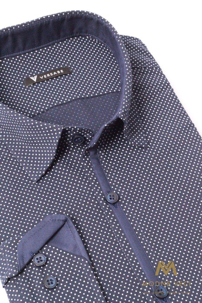 38df04b93ebf Luxusná pánska bavlnená košeľa SLIM FIT STRIH VS-PK-1721