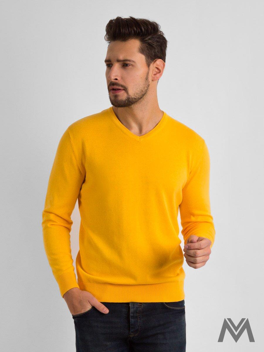 f70b0256a431 Pánsky sveter SW 900-10 žltý