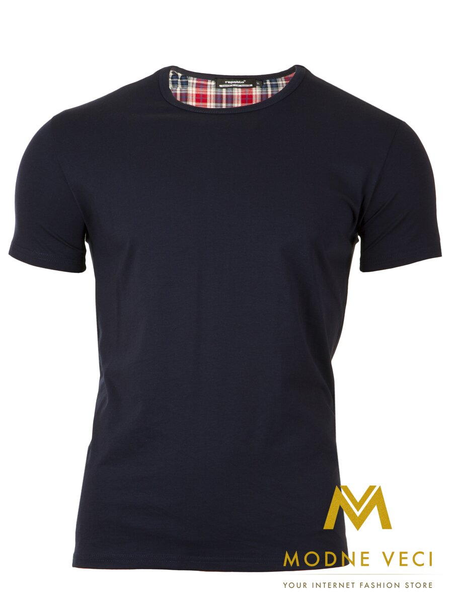 a43362897e34 Pánske tričko s krátkym rukávom 300-2 modré