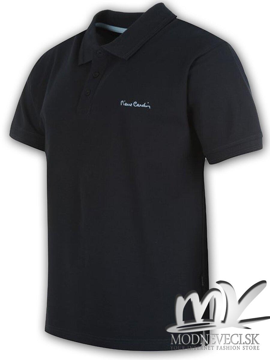 647a22e1f29a Pánske tričko Pierre Cardin tmavo modré