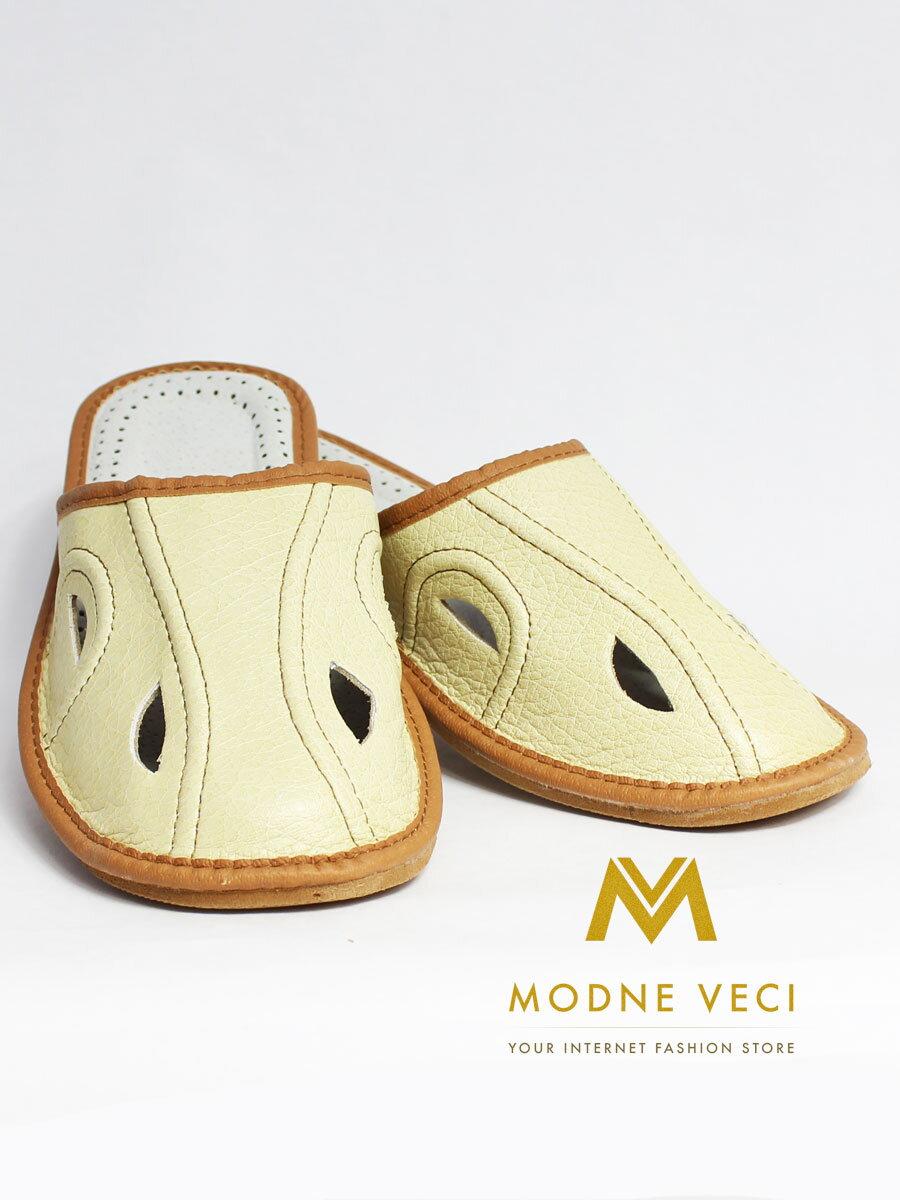 d5bc2416537ff Pánske kožené papuče Model B 0007   ModneVeci.sk