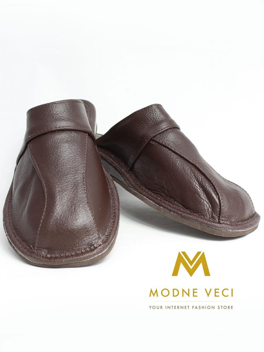 54d5636fac7db Pánske kožené papuče Model V   ModneVeci.sk