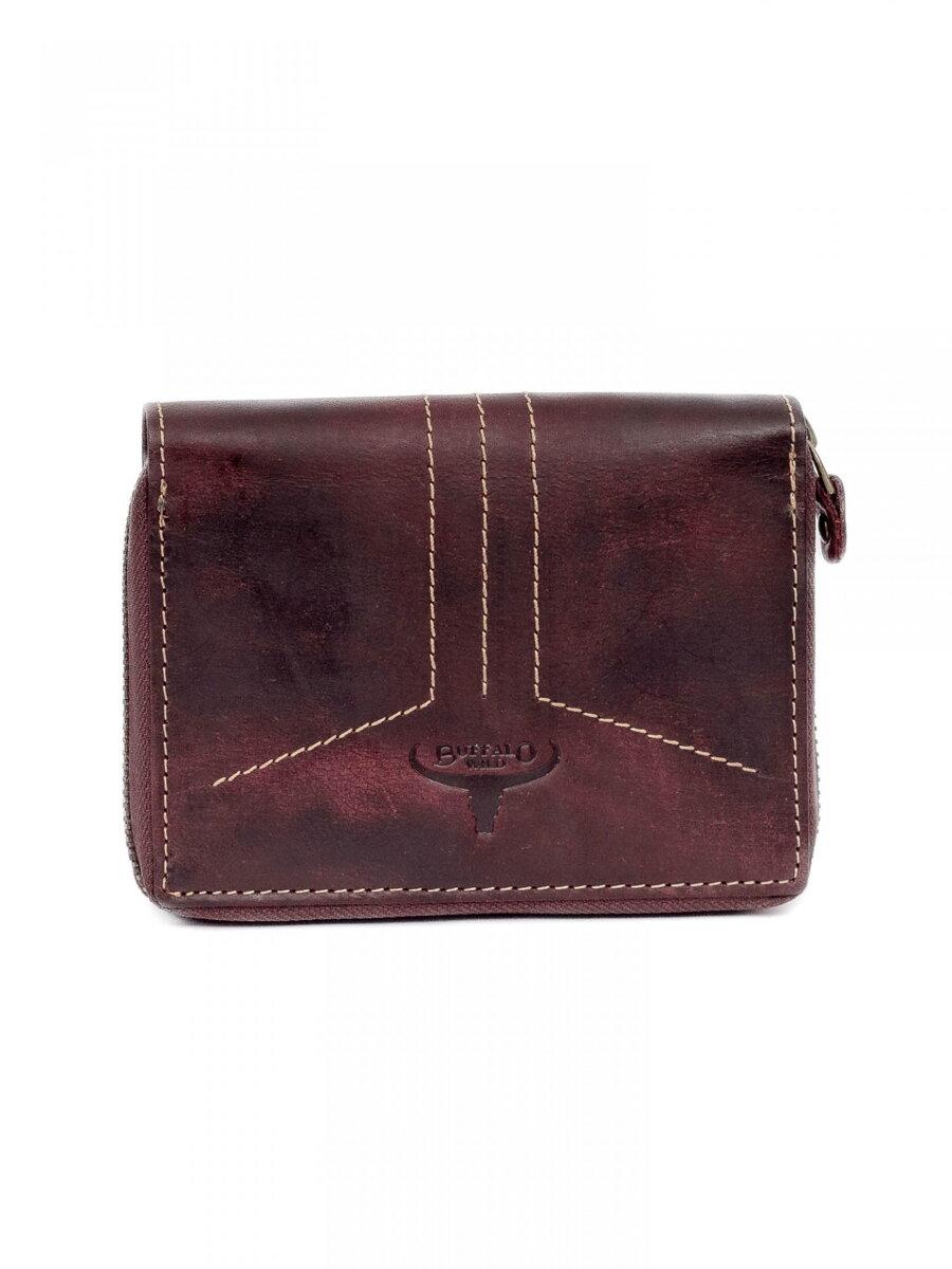 2c2ff23789 Pánska kožená peňaženka BUFFALO WILD N4Z-HP3 tmavohnedá
