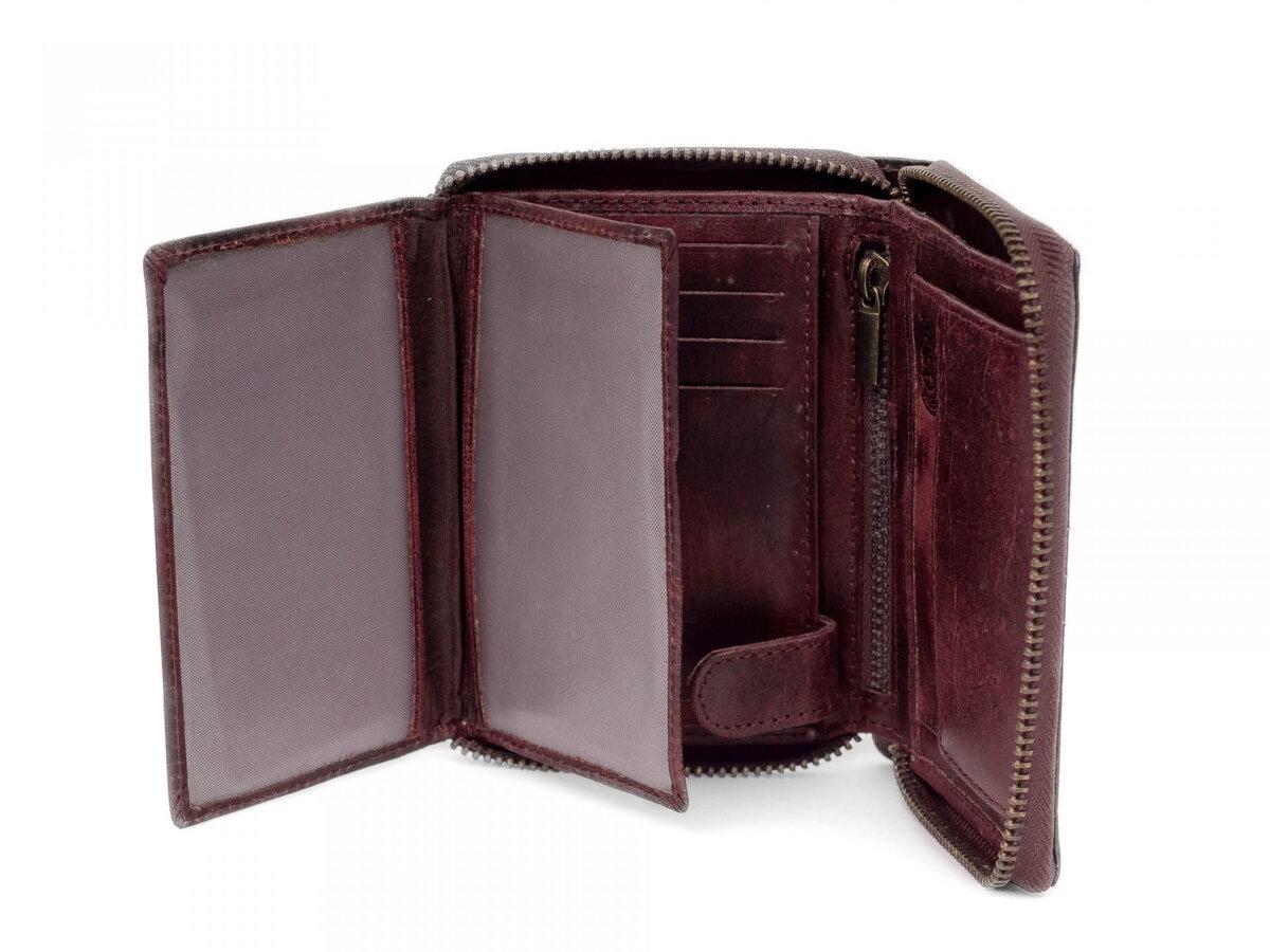 e0a87aecc9 Pánska kožená peňaženka BUFFALO WILD N4Z-HP3 tmavohnedá