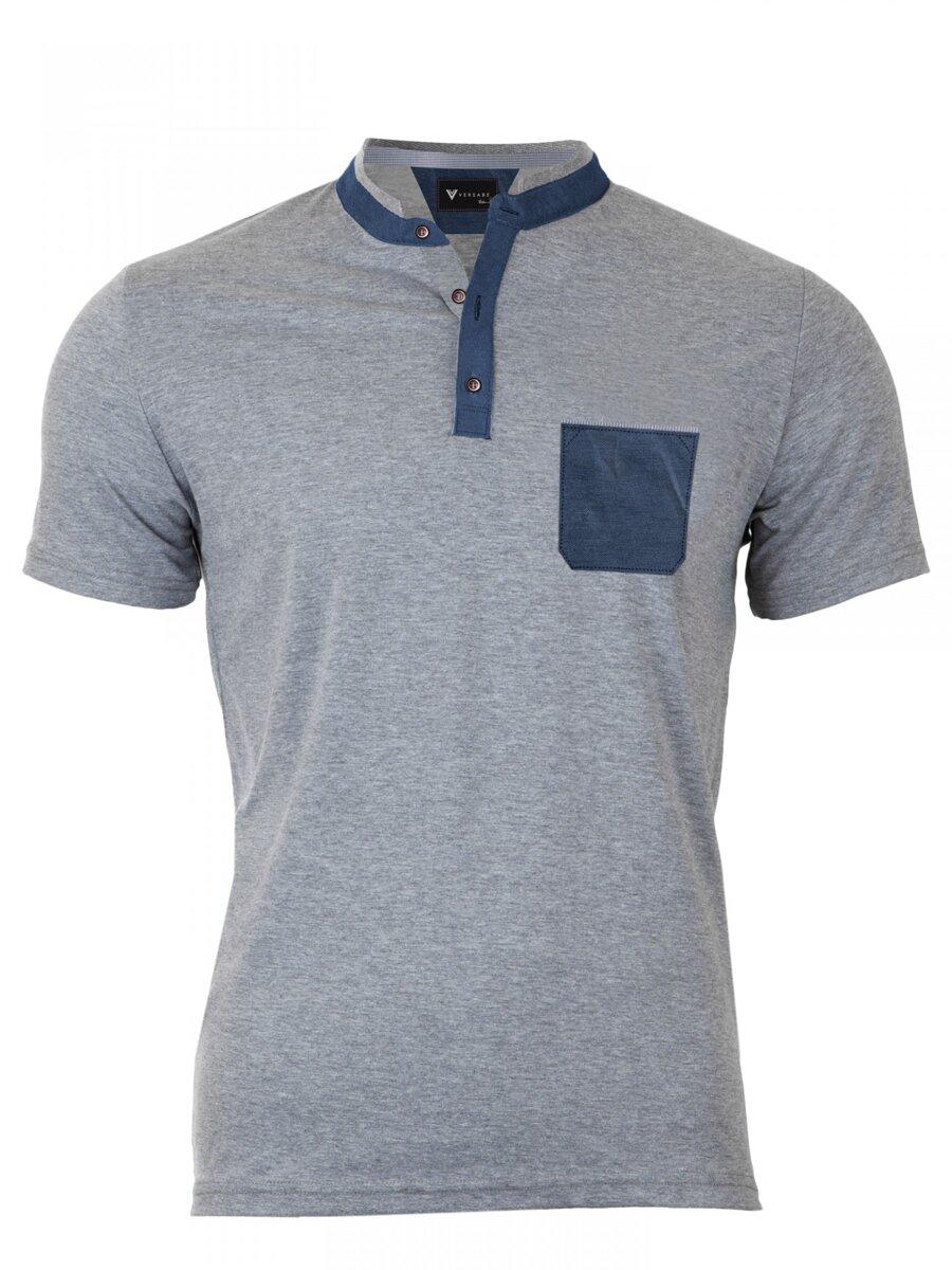 86c853f3f529 Pánske Polo tričko Versabe sivé VS-PoloM 1904