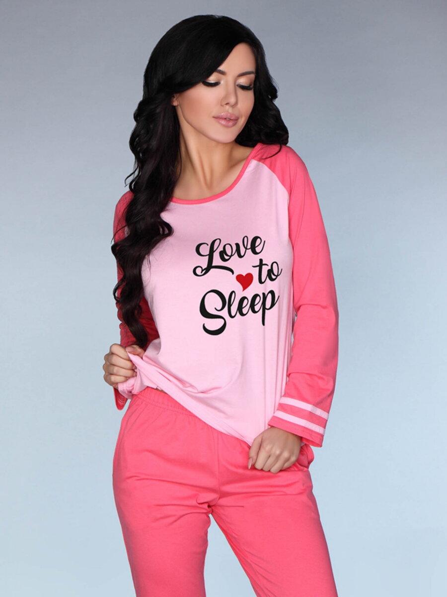 d1a79eaef049 Dámske pyžamo Model Malblea ružové
