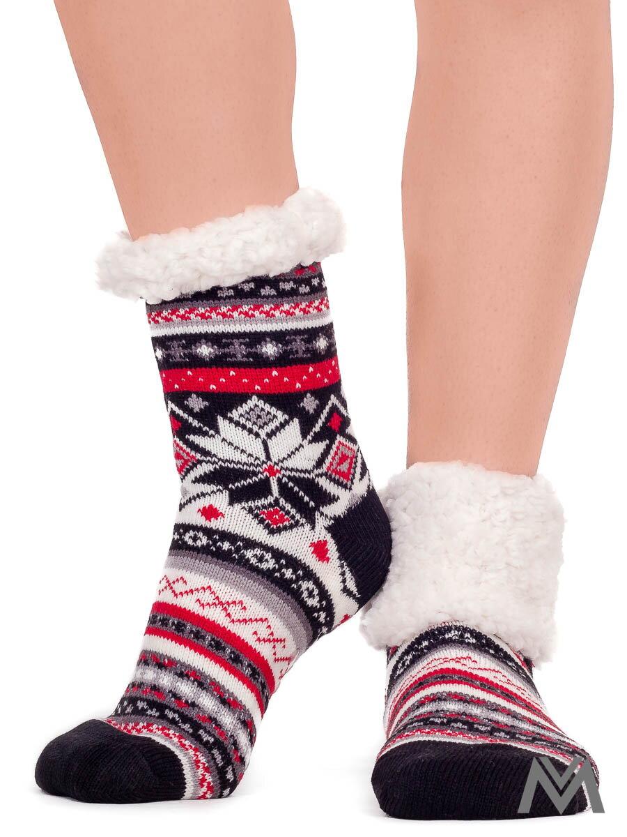 12c1b5342141 Termo ponožky Vianočný zázrak pestré