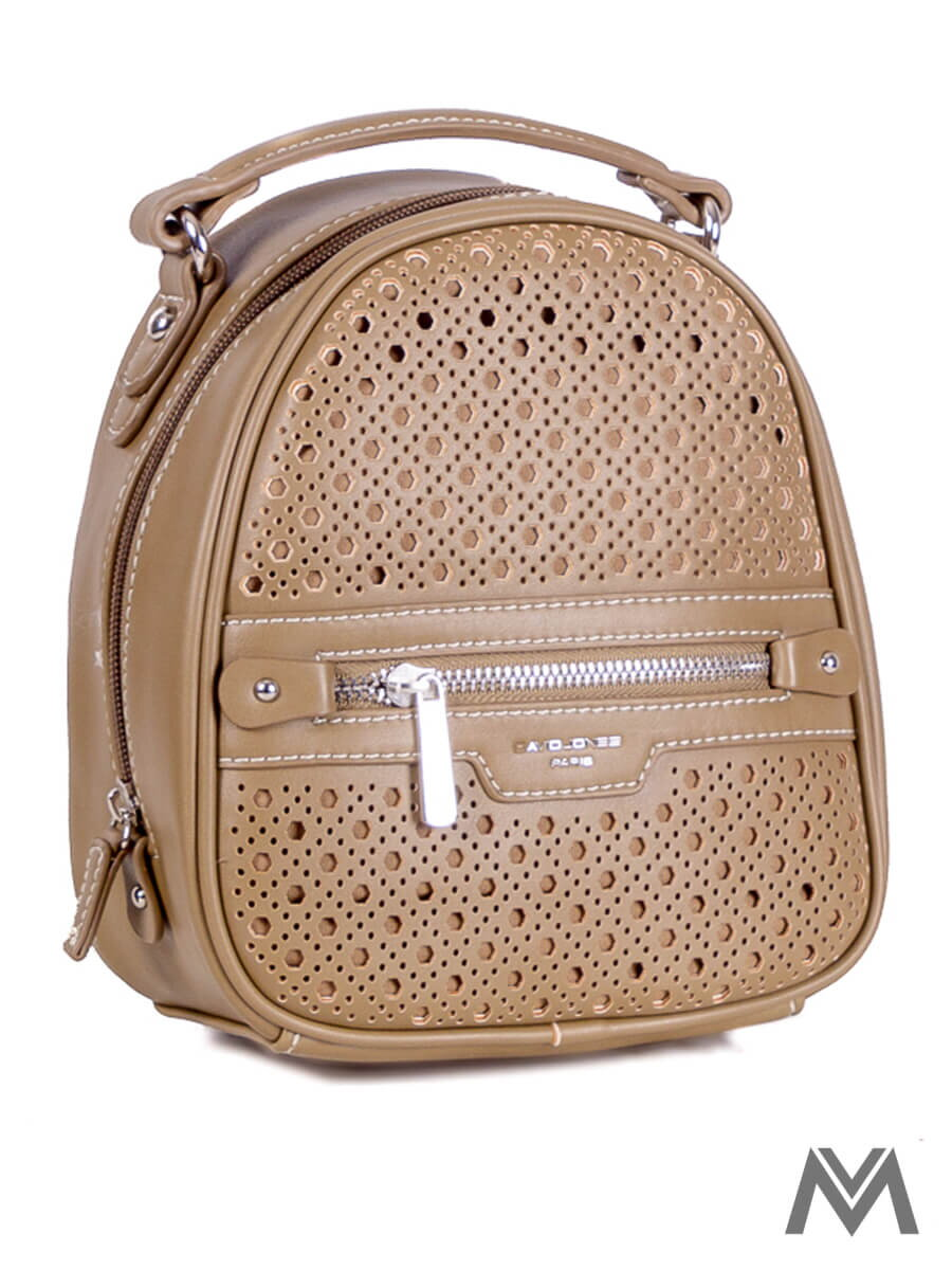 Dámsky ruksak David Jones CM3775 khaki  4de575ec4d