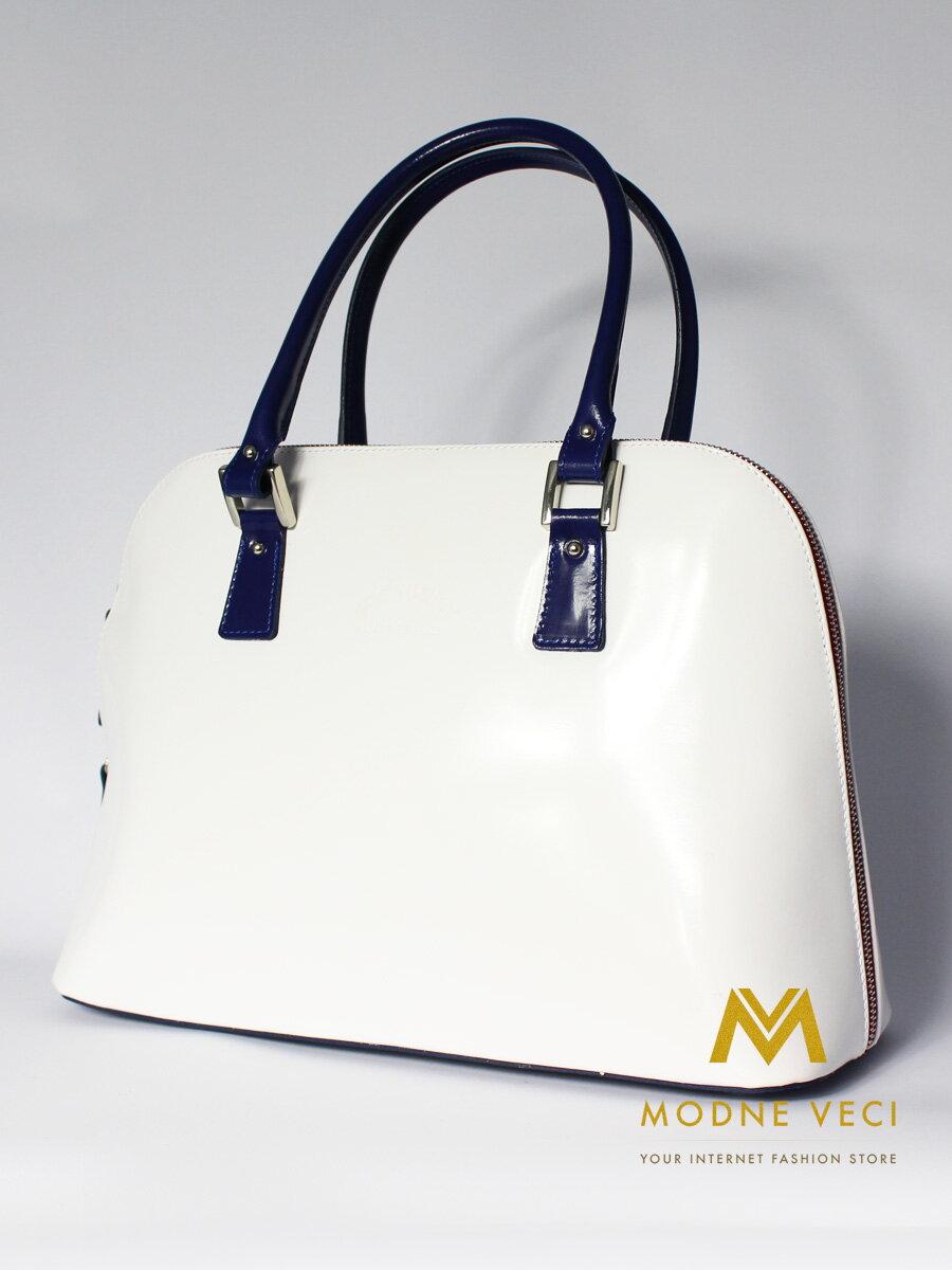 96a418d225e0 Luxusná dámska kabelka Rovicky TWR-14 biela