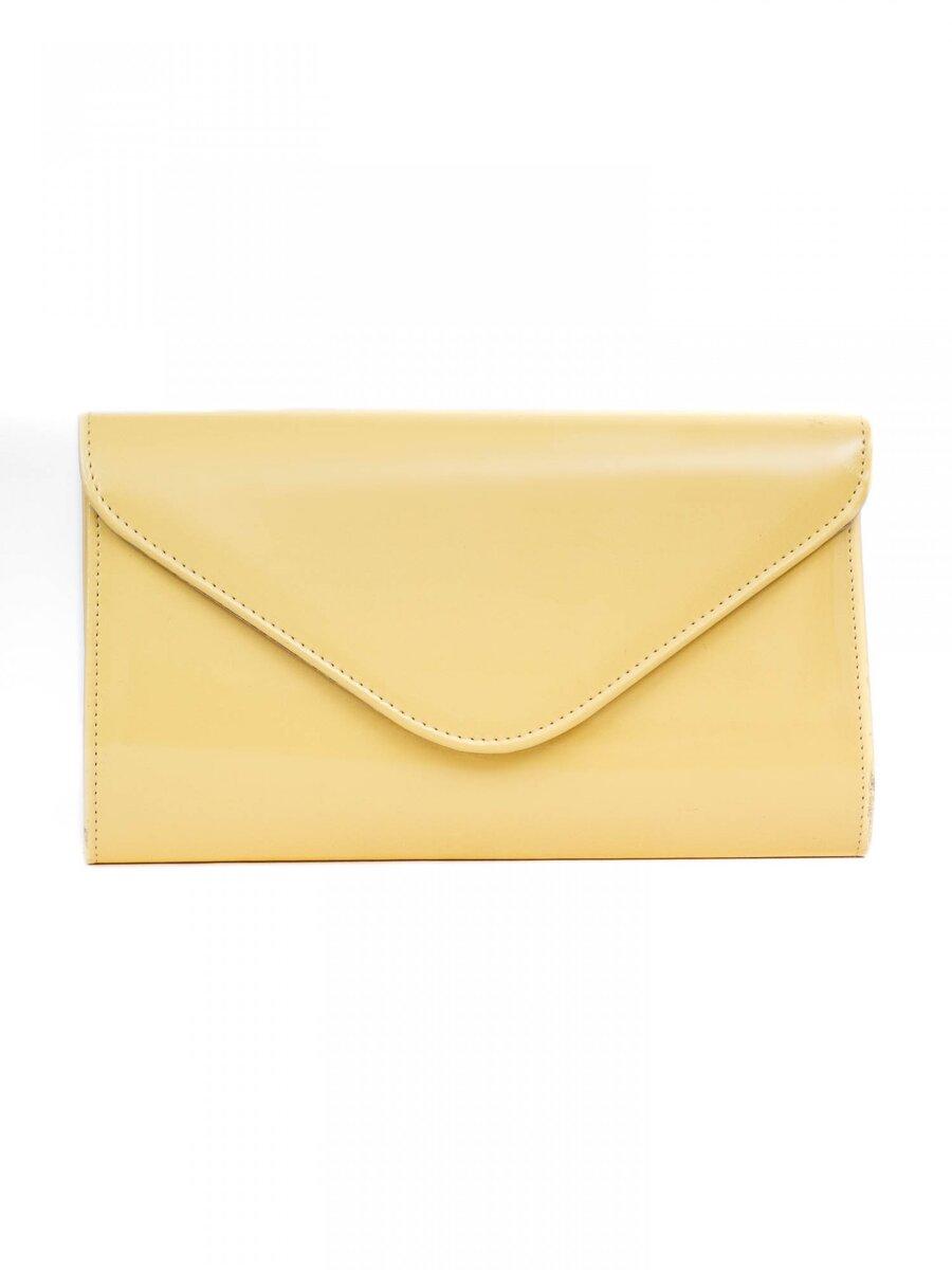 9aeff304bd22 Dámska listová kabelka W25 žltá
