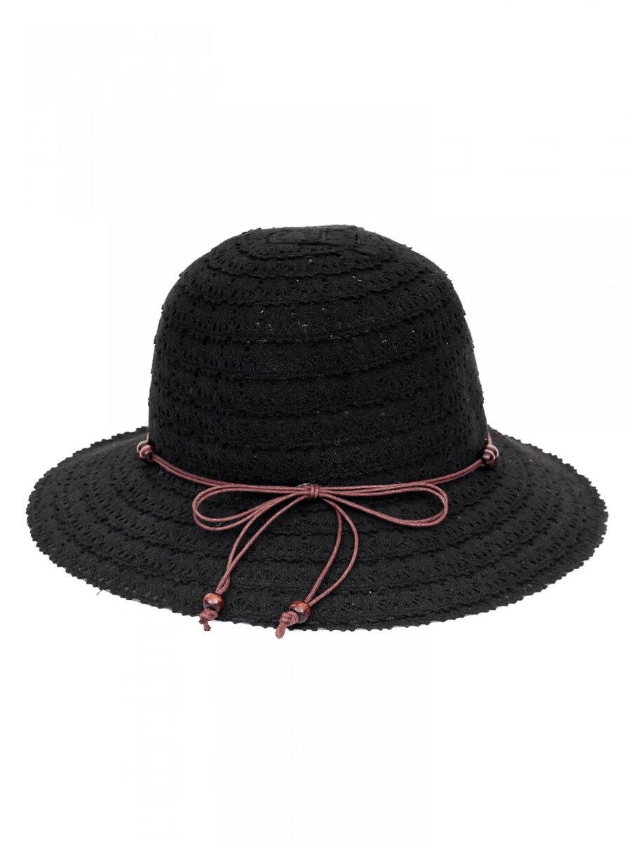 72f68e56f Dámsky slnečný klobúk so stužkou KDS- 30 čierny | ModneVeci.sk ...