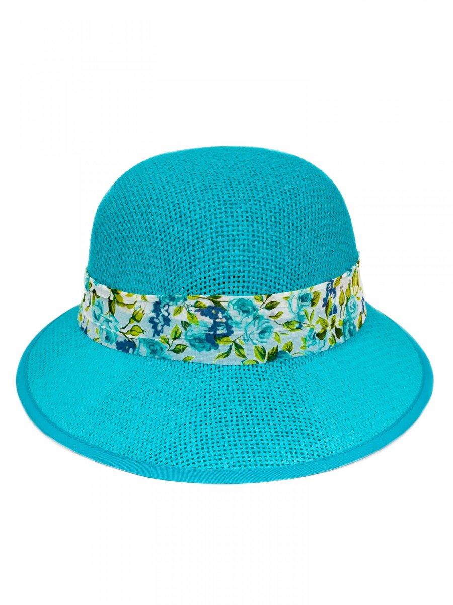 1ee252e97 Slnečný dámsky klobúk so stužkou KDS- 13 modrý | ModneVeci.sk ...