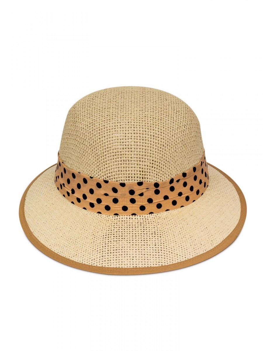 b56ec5ae0 Slnečný dámsky klobúk so stužkou KDS-15 krémový | ModneVeci.sk ...