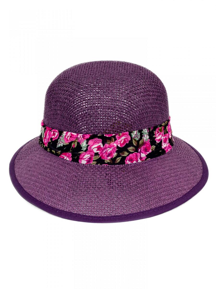91662861c Slnečný dámsky klobúk so stužkou KDS- 18 fialový | ModneVeci.sk ...