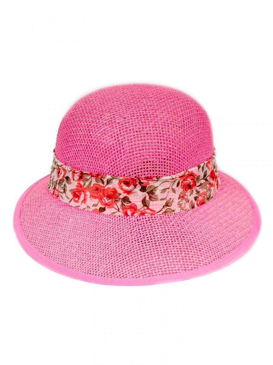 081ef9d83 Slnečný dámsky klobúk so stužkou KDS- 19 ružový | ModneVeci.sk ...