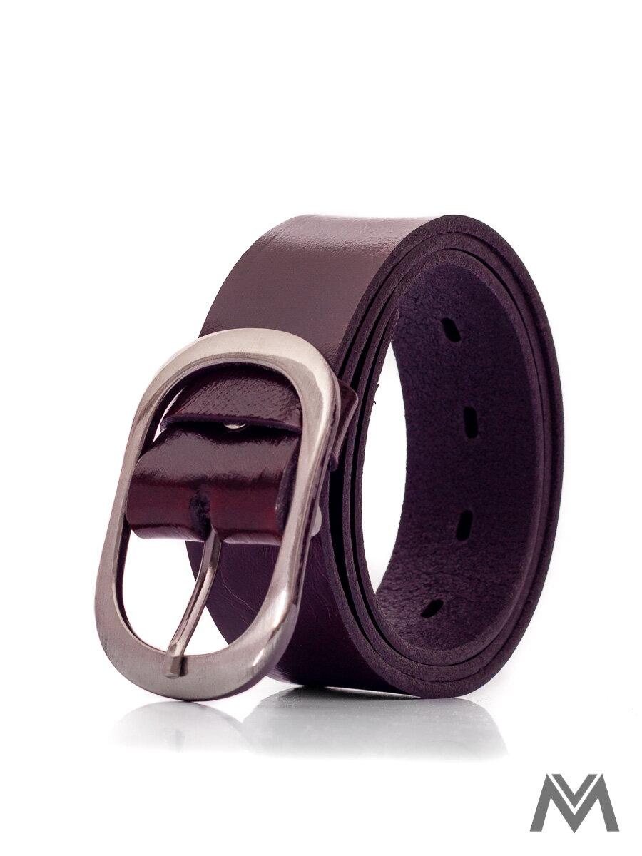 e3d3e3f09 Dámsky kožený opasok DM-3,5-18-32 tmavo bordový | ModneVeci.sk