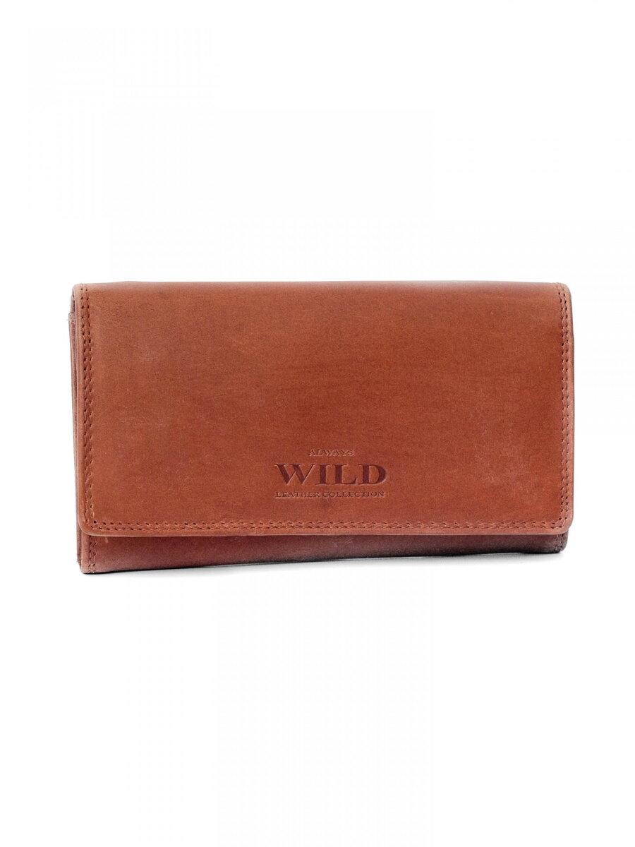 61c050d32 Dámska kožená peňaženka ALWAYS WILD N20-CH hnedá | ModneVeci.sk ...