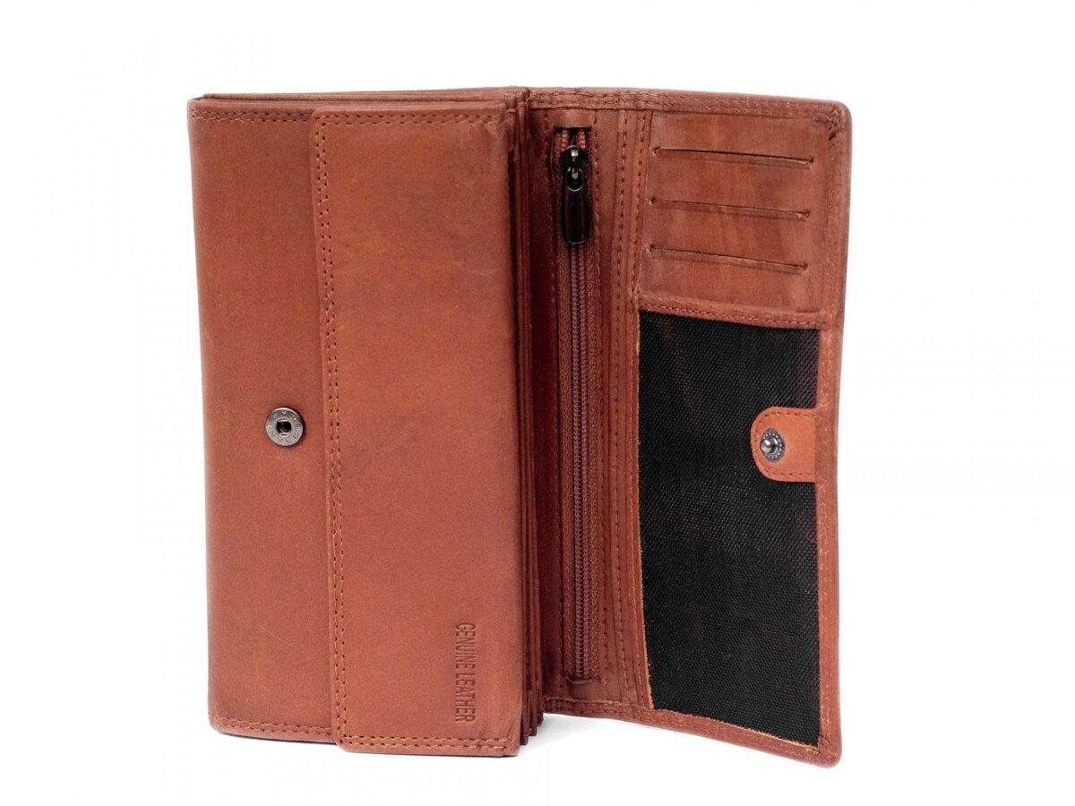 c717e72ac Dámska kožená peňaženka ALWAYS WILD N20-CH hnedá | ModneVeci.sk ...